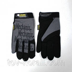 Перчатки рабочие Mechanix Fast Fit серые