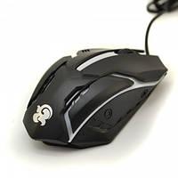 Мышь проводная Q52 игровая USB, фото 1