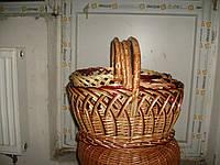 Набор из плетеных корзин протягована