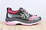 Женские модные кроссовки розового цвета