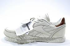 Кожаные кроссовки в стиле Reebok Classic Leather Lux CF, фото 3