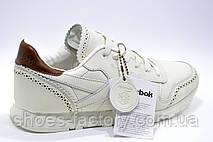 Кожаные кроссовки в стиле Reebok Classic Leather Lux CF, фото 2