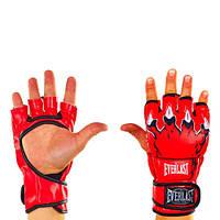 Перчатки для смешанных единоборств Elast BO-3207-R