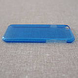 Чехол пластик iPhone 6 blue, фото 4