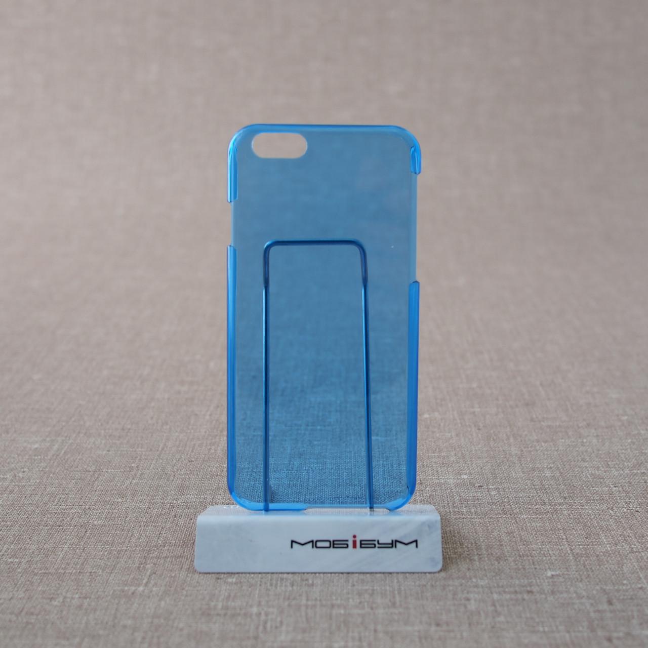 Чехол пластик iPhone 6 blue