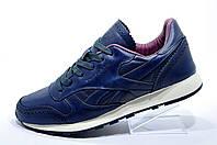 Мужские кроссовки в стиле Reebok Classic Leather Lux CF, Dark Blue