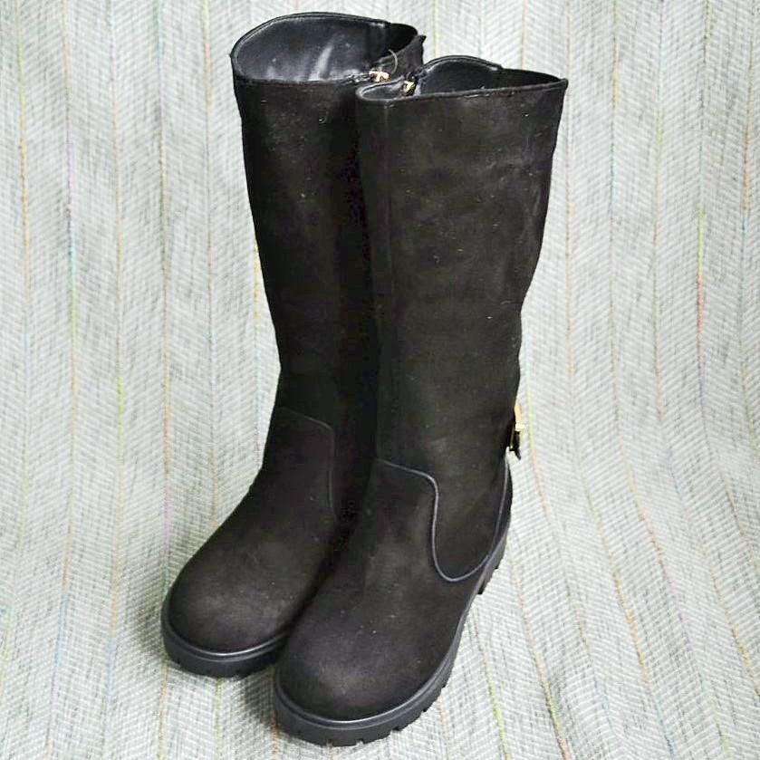 Зимние замшевые сапоги, Foletti Kids размер 31 32
