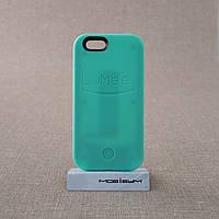 Накладка для селфи Lumee iPhone 6 mint
