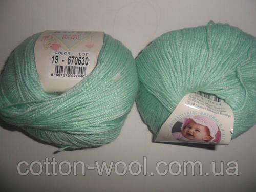 Alize Baby wool (Ализе Беби вул) 19  детская пряжа