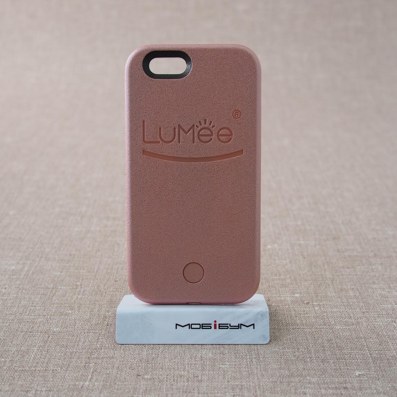 Накладка для селфи Lumee iPhone 6 pink