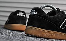 Кроссовки мужские черные New Balance 288 Black (реплика), фото 3