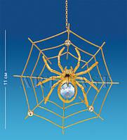 Подвесная фигурка с кристаллами Сваровски Паутинка