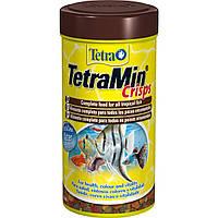 Tetra MIN Crisps (Основной корм для всех видов декоративных рыб чипсы), 500мл