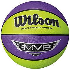 Мяч баскетбольный Wilson MVP р. 7 (WTB9067XB)