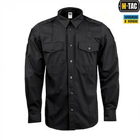 Рубашка с длинным рукавом M-Tac Elite Flex полиция черная
