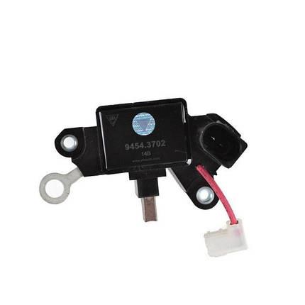 Регулятор напряжения со щёточным узлом 9454.3705 (ВАЗ-1117-1119) ВТН, фото 2