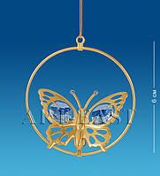 Подвеска с кристаллами Сваровски Бабочка