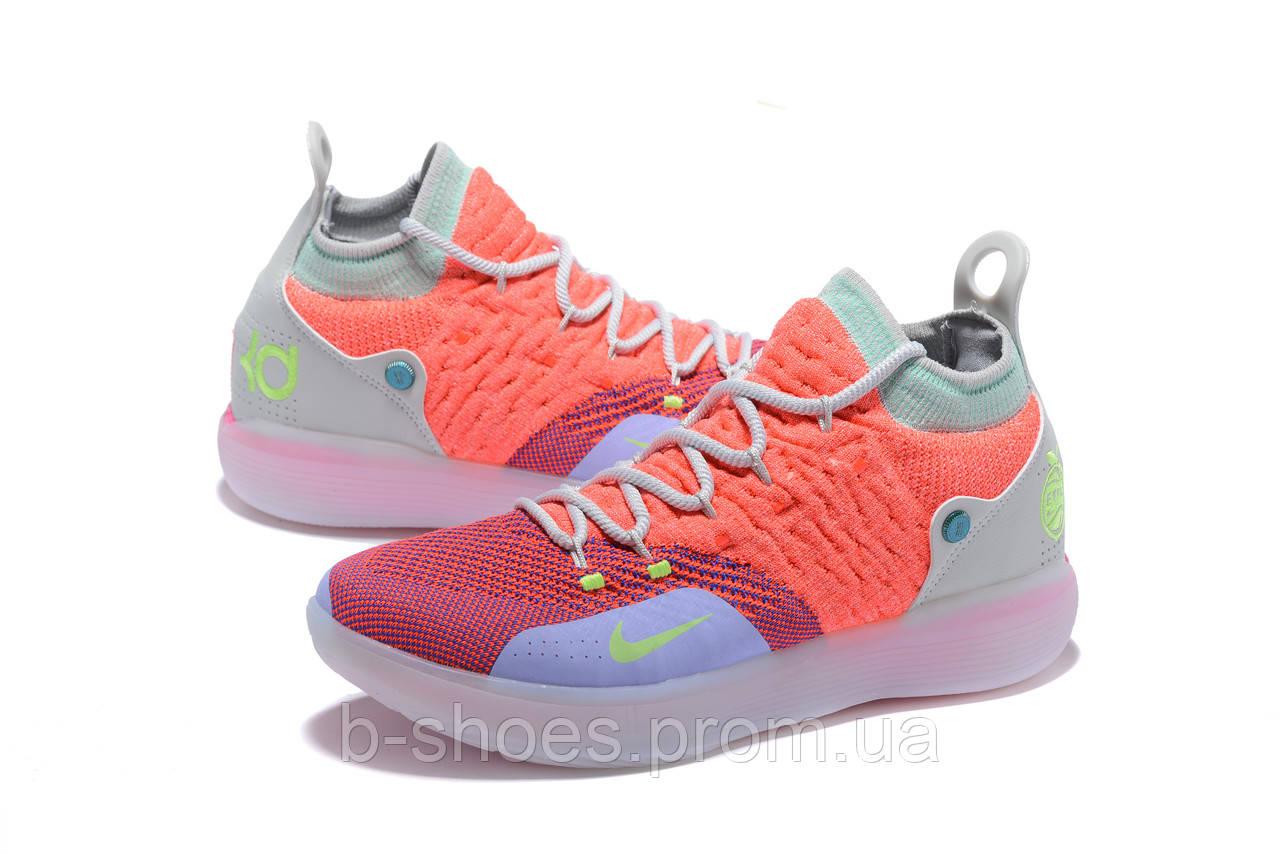 Мужские баскетбольные кроссовки Nike KD 11 (Orange/Red/Pink)