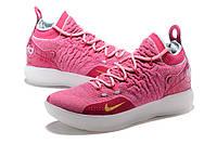 Мужские баскетбольные кроссовки Nike KD 11 (Pink/White), фото 1