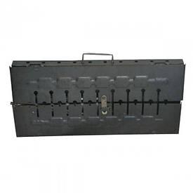 Мангал (чемодан, 10 шампуров)
