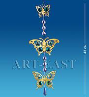 Подвеска с кристаллами Сваровски Бабочки