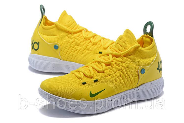 Мужские баскетбольные кроссовки Nike KD 11 (Yellow/White)