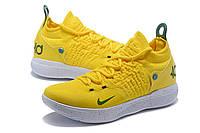 Мужские баскетбольные кроссовки Nike KD 11 (Yellow/White), фото 1