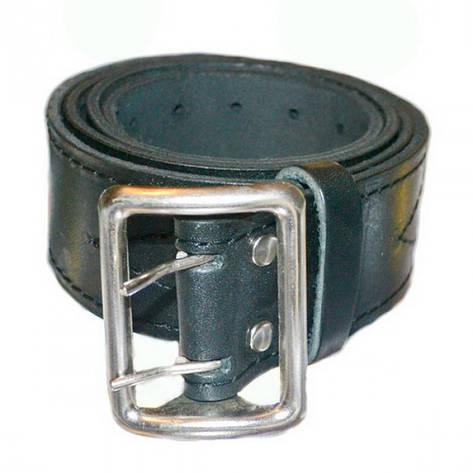 Ремень портупея МВД кожаный, фото 2