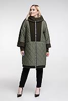 Пальто зимнее с меховой отделкой, с 54 по 68 размер , фото 1