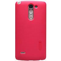 Чехол Nillkin для  LG G3 Stylus D690 + пленка (красный), фото 1