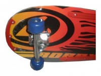 Скейтборд 46 X 25, колёса - PVC, алюминиевая подвеска