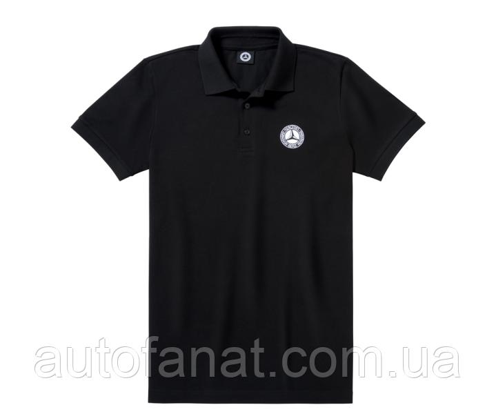 Оригинальная мужская рубашка-поло Mercedes Men's Polo Shirt, Classic 1926, Black (B66041597)