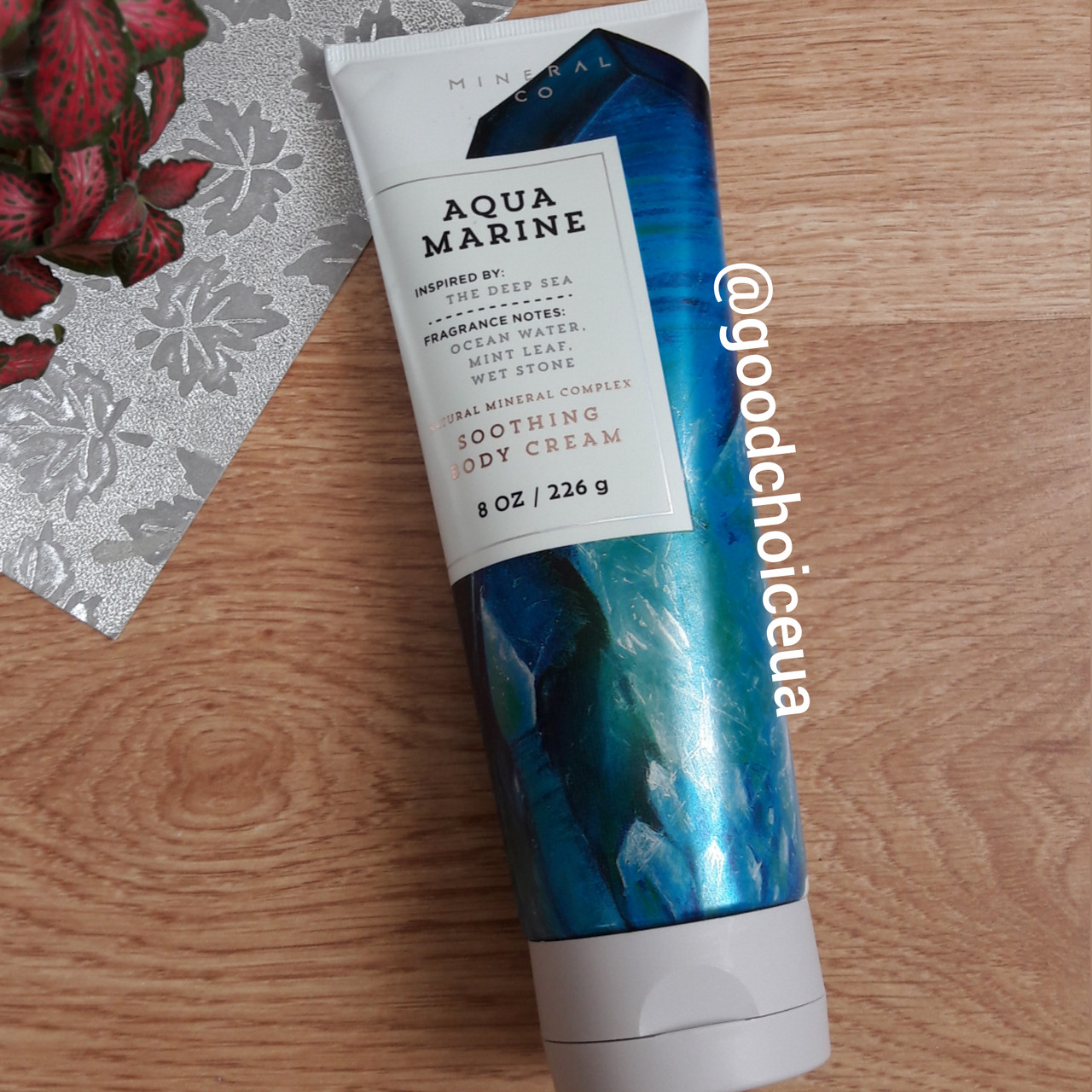 Крем для тела Bath&Body Works Aqua Marine