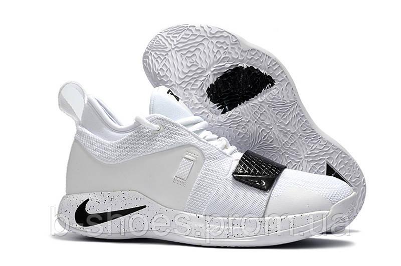Мужские баскетбольные кроссовки Nike PG 2.5 (White Black) купить в ... 7dbabb1b470