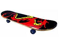 Скейт 49 Х 20, колёса - PU, алюминиевая подвеска