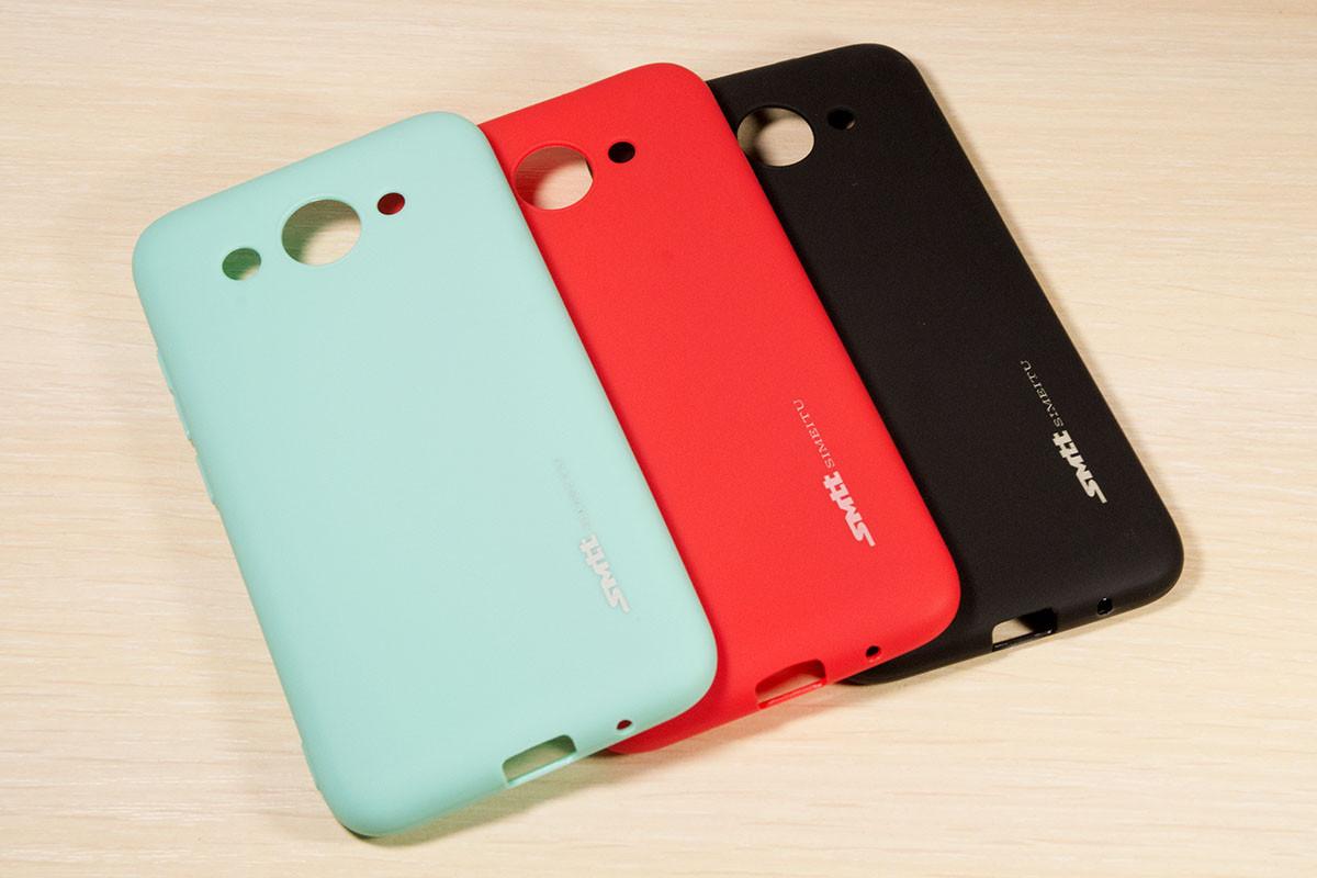 TPU чехол накладка Smitt для Huawei Y3 2017 (3 Цвета)