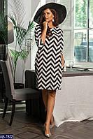 Платье   женское   Зигзаг, фото 1