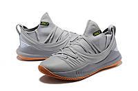 Мужские баскетбольные кроссовки Under Armour Curry 5 (Gray/Orange), фото 1