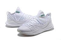 Мужские баскетбольные кроссовки Under Armour Curry 5 (White), фото 1