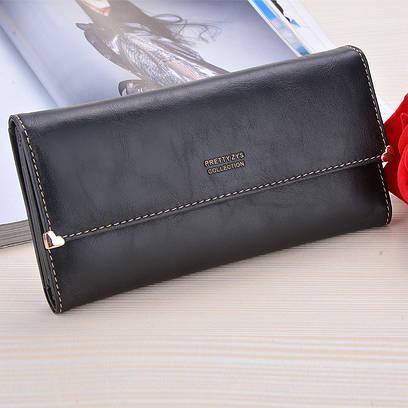Женский кошелек с фиксатором