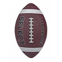 Мяч для американского футбола Select American Football р. 3 (229760-218) Brown/Black
