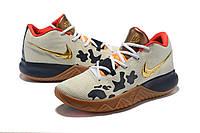 Мужские баскетбольные кроссовки Nike Kyrie Flytrap (Beige/Orange/Black), фото 1