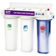 Трёхступенчатая система фильтрации воды TRIO