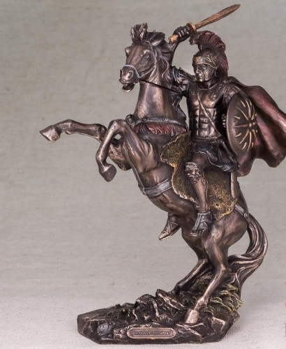 Статуэтка Александр Великий Veronese 30 см 76423A4