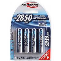 2шт Аккумулятор пальчиковый Ansmann AA 2850