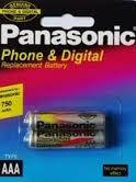 Аккумулятор ААА Panasonic 750 mAh