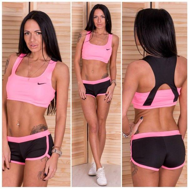 Женский модный костюм для фитнеса в расцветках f-5so126