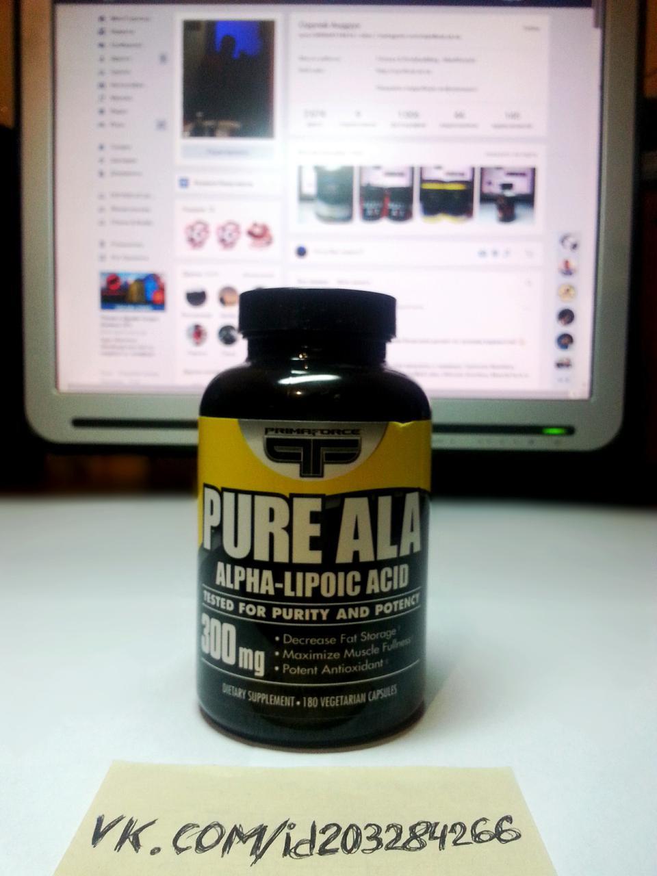 Primaforce Pure ALA 300 mg 180 капс