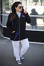 Женский спортивный кардиган в больших размерах в двух расцветках m-10ba720, фото 4