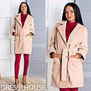 Женское кашемировое пальто оверсайз в расцветках p-5pt77, фото 2